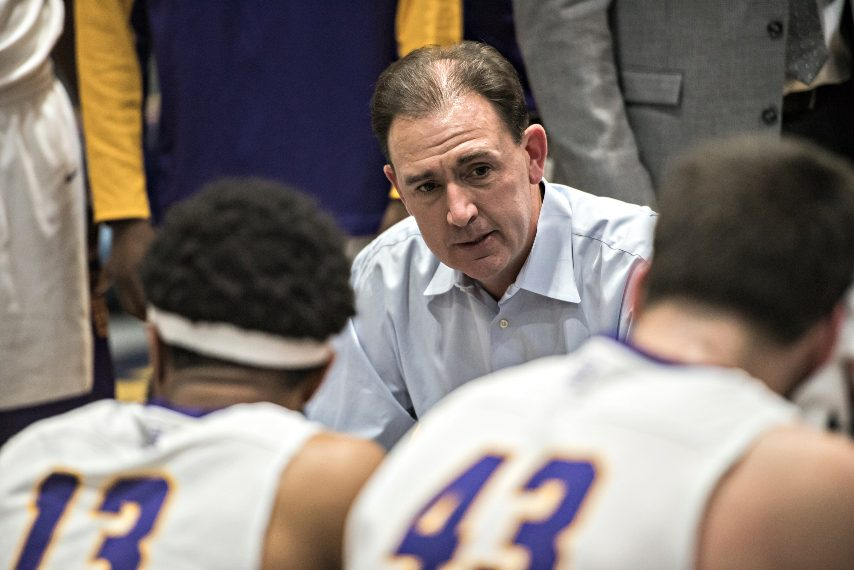 Will Brown's run as UAlbany men's basketball head coach is over. (Gazette file photo)
