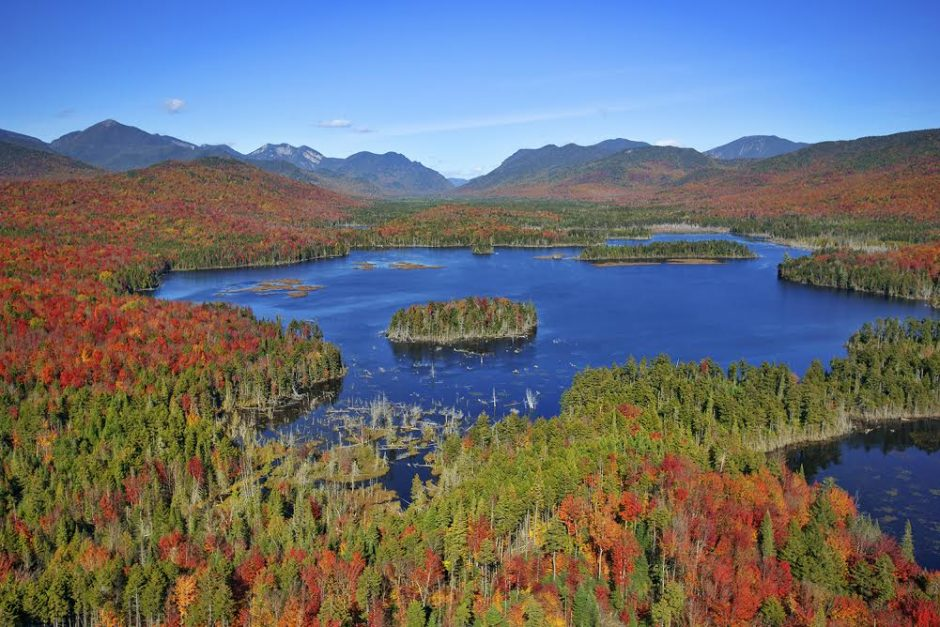 CARL HEILMAN II/THE ADIRONDACK COUNCILThe Boreas Ponds tract in the Adirondacks, with peaks in the background, is pictured.