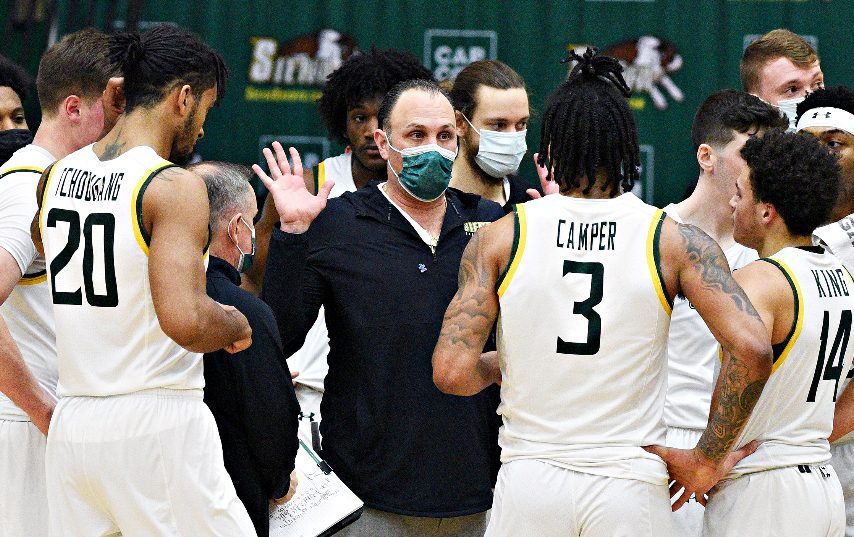 Siena lost its regular-season finale. (Gazette file photo)