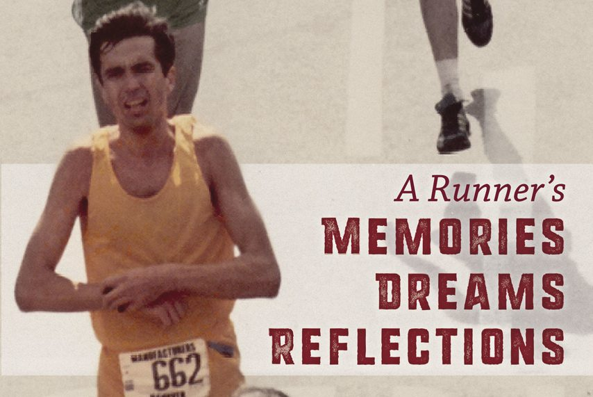 """PHOTO PROVIDED Tom Bulger of Troy has published a book about running titled """"A Runner's Dreams, Memories, Reflections."""""""