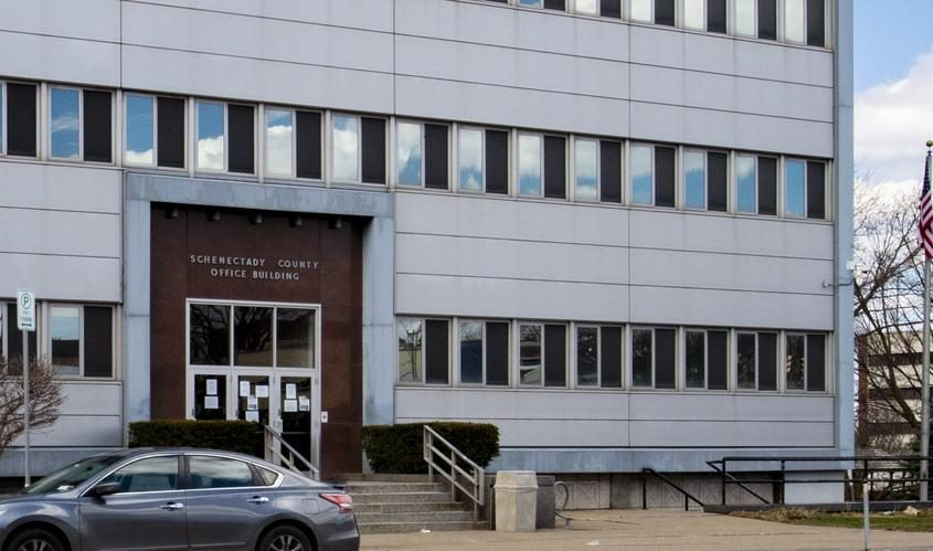 The Schenectady County Office Building - File