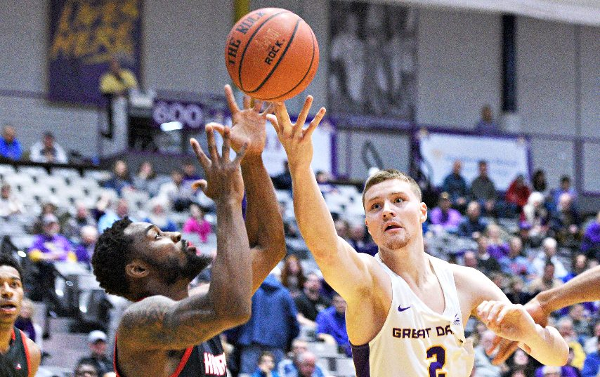 Trey Hutcheson, right, is the latest UAlbany player to enter into the transfer portal. (Gazette file photo)
