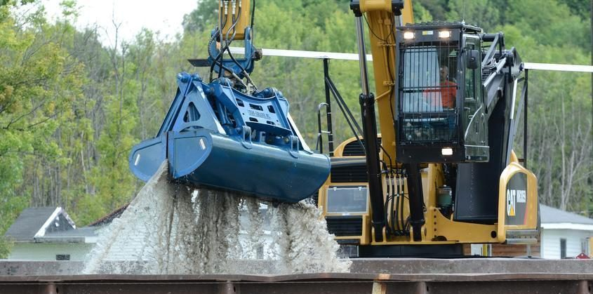 A PCB dredging operation is seen on the Hudson River in Stillwater in August of 2014. File photo
