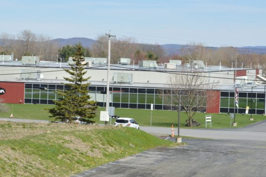 Precision Valve & Automation'snorthColonie factory is shown in April 2020.