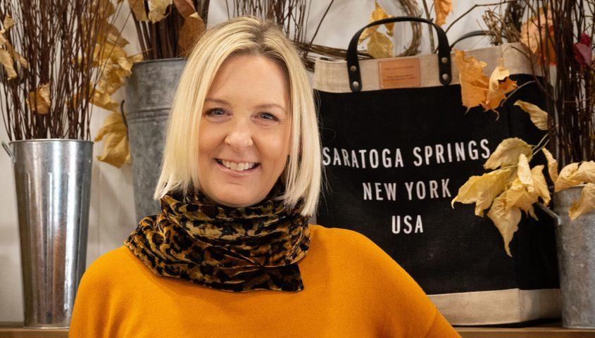 Heidi Owen West, mayoral candidate in Saratoga Springs.