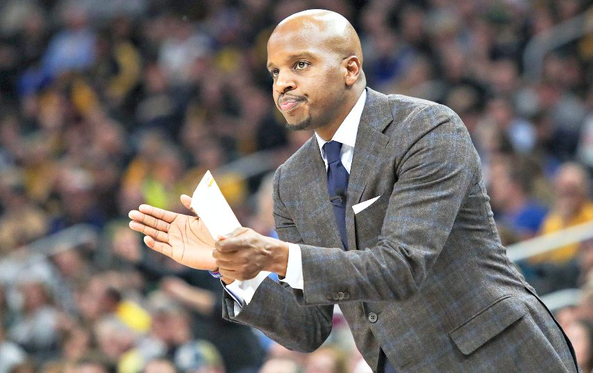 Dwayne Killings appears likely to be the next UAlbany men's basketball coach. (Photo courtesy Marquette Athletics)