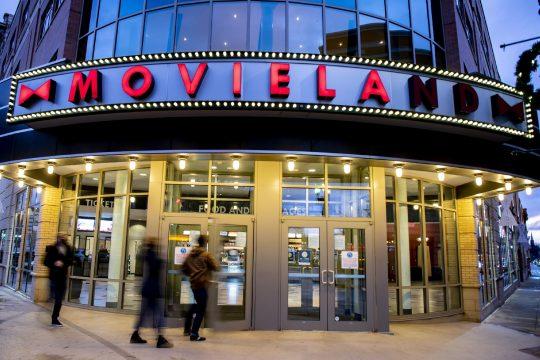 Bow Tie Cinemas' Movieland 6 on State Streetin Schenectady is seen in December.