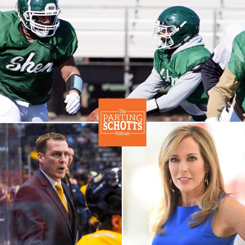 The Gazette's Adam Shinder talks high school football, the ECAC Hockey tournament starts Thursday and special guest Linda Cohn talks the NHL and the return of the league to ESPN.