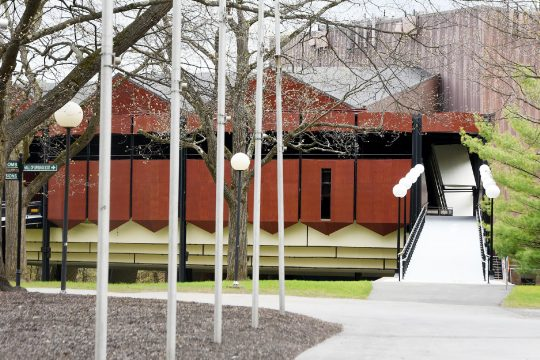 TheSaratoga Performing Arts Center, SPAC, is pictured on May 4.