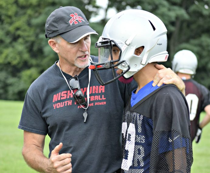 John Furey, who stepped down as Niskayuna's head varsity football coach in 2016, is serving as a defensive assistant with the team.