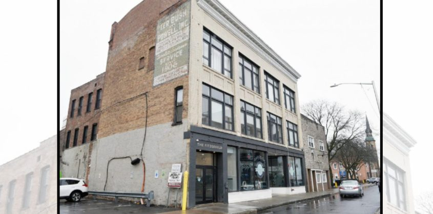 The Fitzgerald building on Clinton Street in Schenectady is pictured on Thursday.