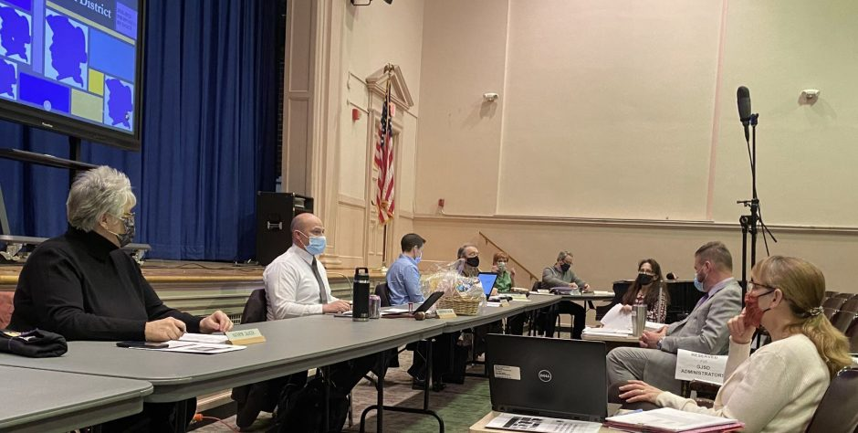 The Greater Johnstown School District school board and administrators resumed in-person meetings Thursday night at the former Knox Junior High School auditorium.