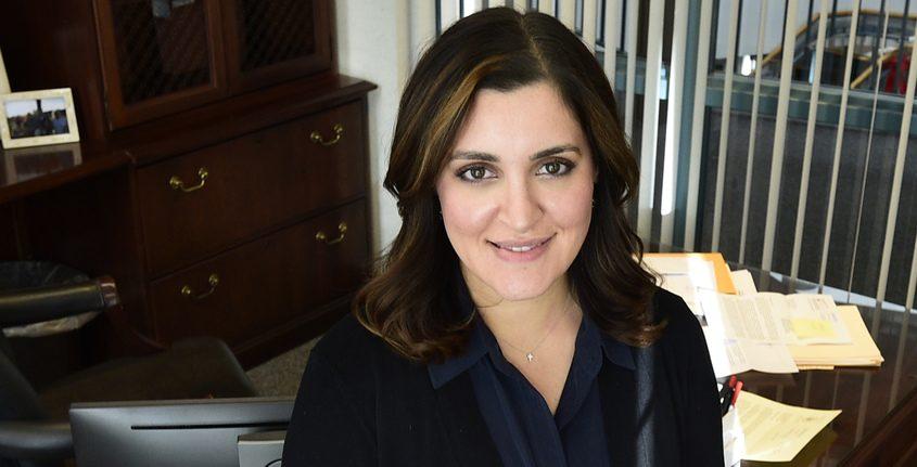 Niskayuna Town Supervisor Yasmine Syed in January 2019
