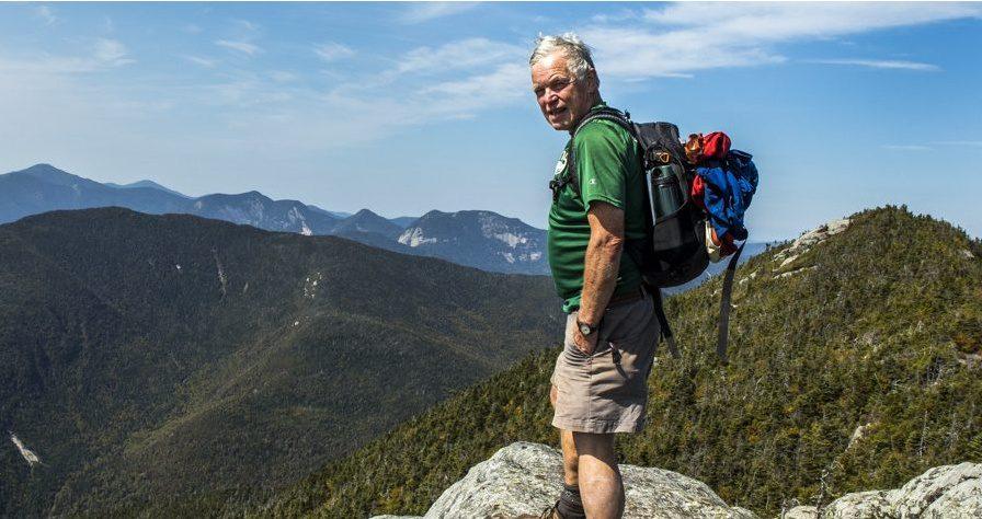 Tony Goodwin, Adirondack author, hiker, skier, outdoorsman, adventurer, and enthusiastic bushwacker. Photo by Nancie Battaglia