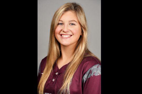 Olivia Valery. (Photo courtesy Union Athletics)