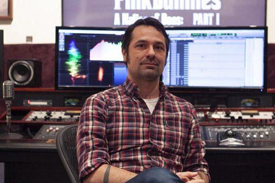 Matt Rocker in his New York City studio