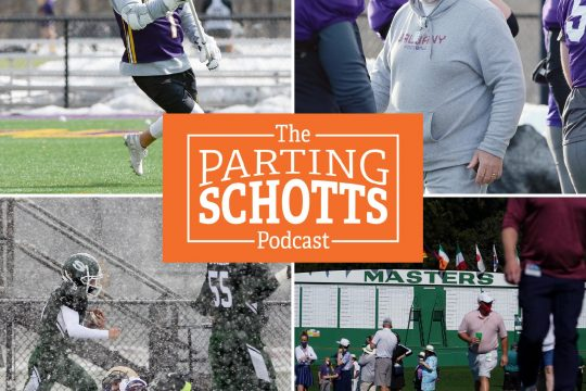 Daily Gazette staffers Mike MacAdam (on UAlbany men's lacrosse), Adam Shinder (on UAlbany football) and Michael Kelly (on high school football), plus Sirius XM's Brian Katek previews the Masters on 'The Parting Schotts Podcast.'
