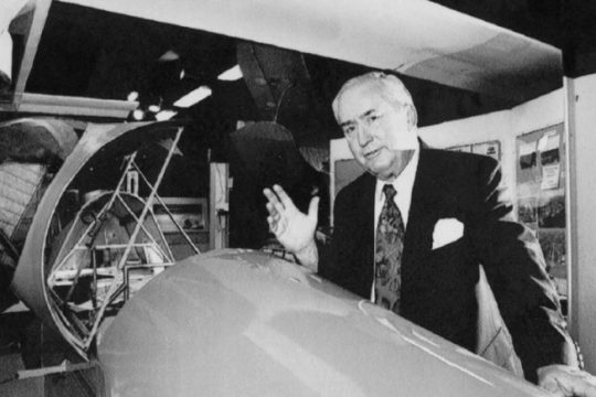 Ernie Tetrault, one of the founders of the Empire State Aerosciences Museum in Glenville, is pictured in this Gazette file photo.