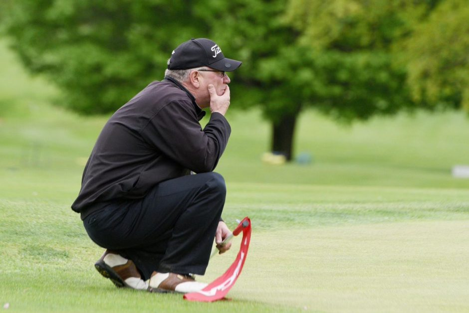 Longtime Pinehaven CC course superintendent Bob Bigley is also a fine player, having won five Schenectady County Amateur Championships.