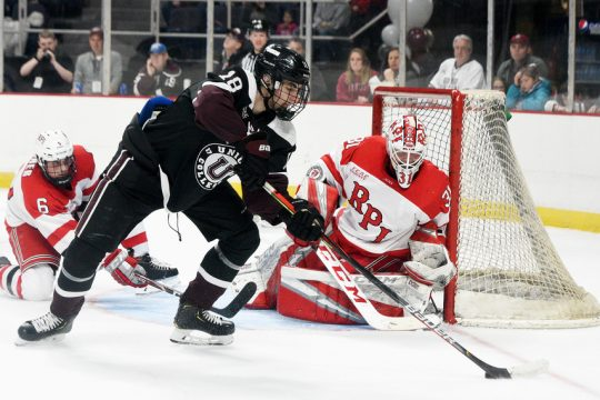 ERICA MILLER/STAFF PHOTOGRAPHER Union College released its 2021-22 men's and women's hockey schedules on Monday.