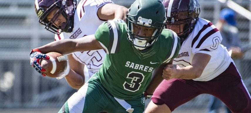 Darius Green(3) and Schalmont hold the top spot in The Daily Gazette's Class B football power rankings after Week 4.