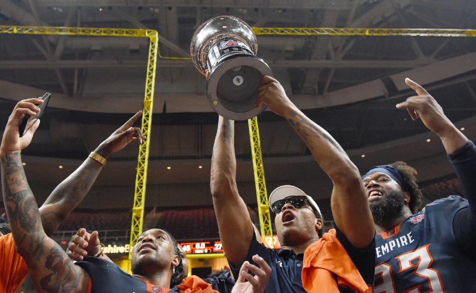 The Albany Empire have a new coach to lead them into their inaugural season in the National Arena League.