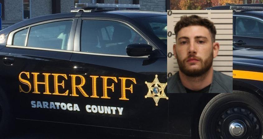 Tyler J. Gaston -Credit: Saratoga County Sheriff's Office (Inset); File Photo (Background)
