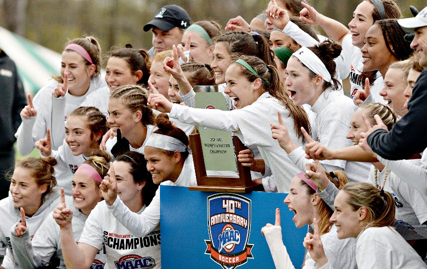 Siena won the MAAC women's soccer tournament last week.