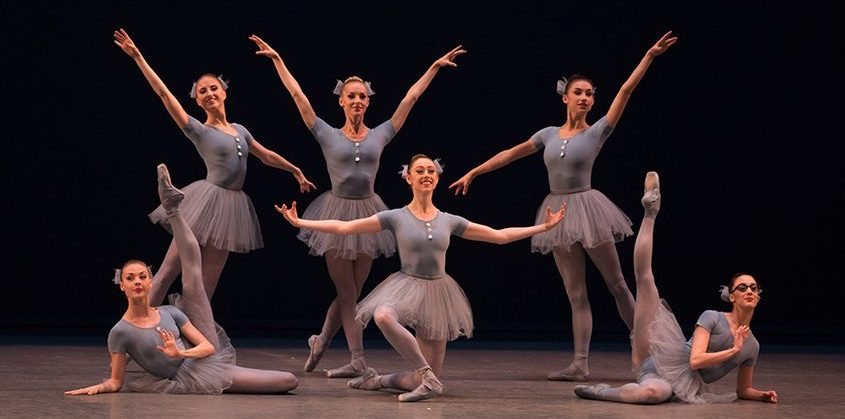 New York City Ballet dancers in Jerome Robbins' The Concert. (Rosalie O'Connor photo)