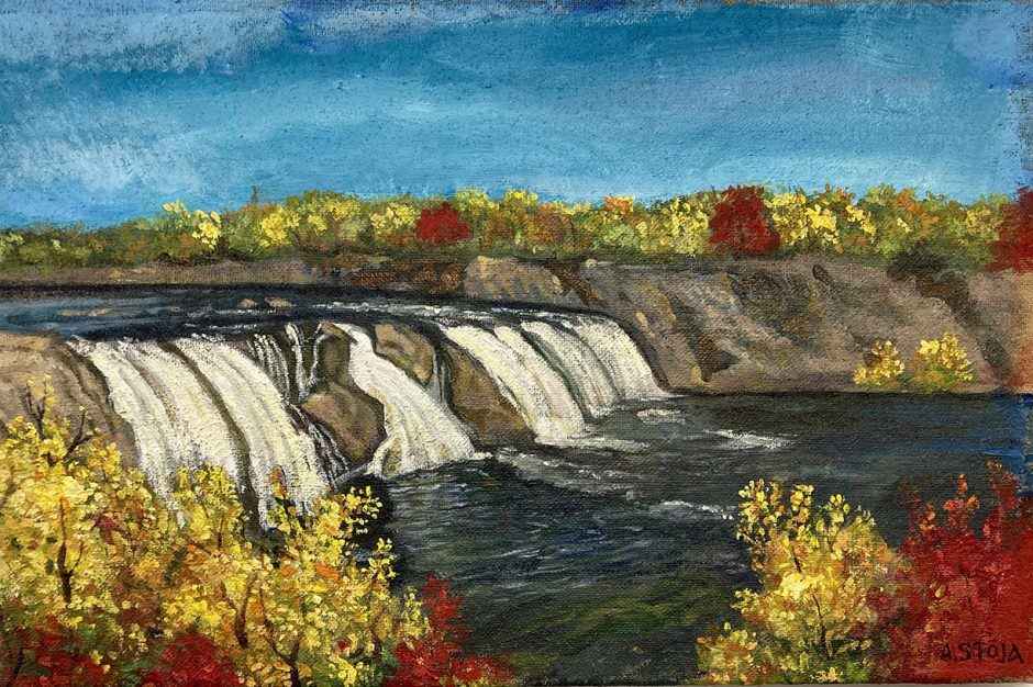 """Cohoes Falls"" by Efthimios (Altin) Stoja. (photo provided)"