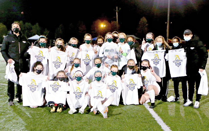 Russell Sage women's soccer won its league championship last weekend. (Photo provided)