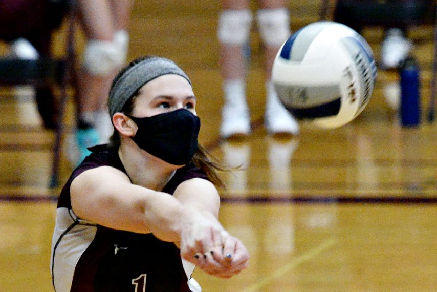 """Burnt Hills-Ballston Lake junior outside hitter Carlie Rzeszotarski has been named the Suburban Council girls' volleyball most valuable player for the """"Fall II"""" season."""