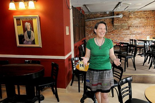 Sarah Craig, executive director, is pictured at Caffe Lena in a file photo.