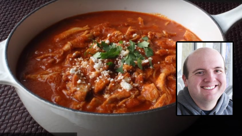 "Recreating Chef John's chicken tinga is ""hands down, the best thing I've ever made in my life,"" Shinder says"