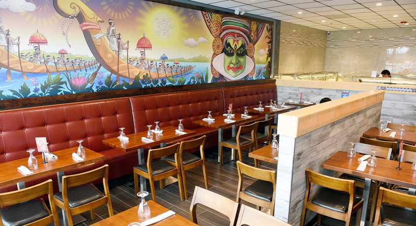 Interior views of new Spice Malabar Indian Cuisine, recently opened in March in Clifton Park