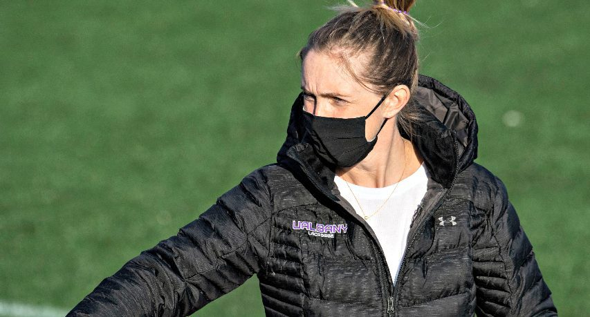Katie Rowan Thomson was named America East Coach of the Year on Wednesday.
