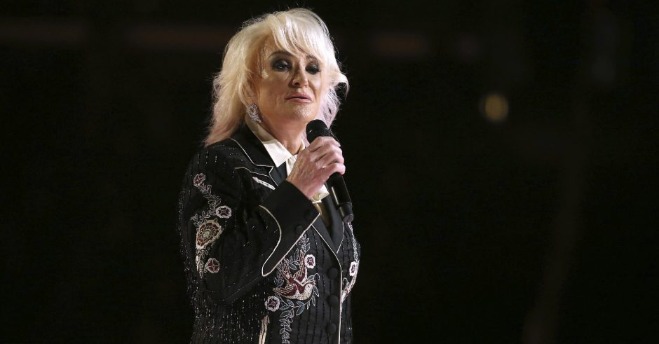 """Tanya Tucker, shown performing """"Bring My Flowers Now"""" at the 62nd annual Grammy Awards on Jan. 26, 2020, in Los Angeles, is scheduled to perform at The Egg on Aug. 13. (The Associated Press)"""