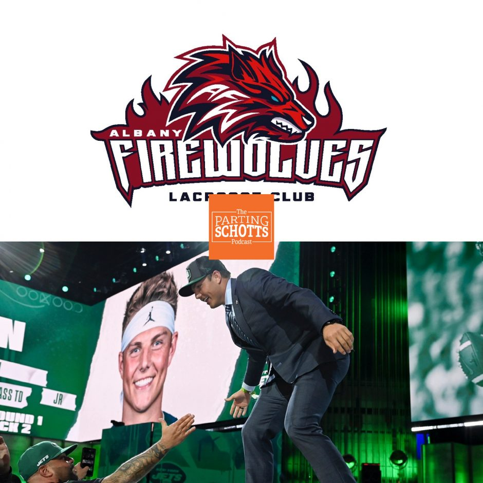 The Albany FireWolves and the NFL Draft are among the topics on 'The Parting Schotts Podcast.'