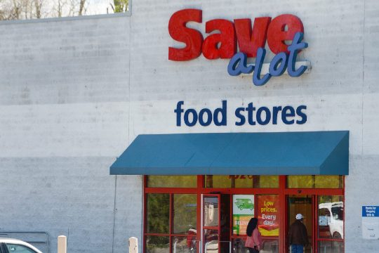 Save A Lot grocery store in Rotterdam, pictured Thursday, is set to close May 22.