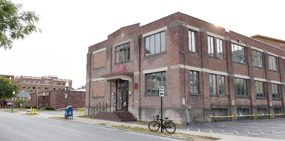 The former Saratoga County Public Health building on Woodlawn Avenue in Saratoga Springs,pictured in September, is being sold.