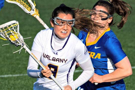 UAlbany advanced to Saturday's championship game.