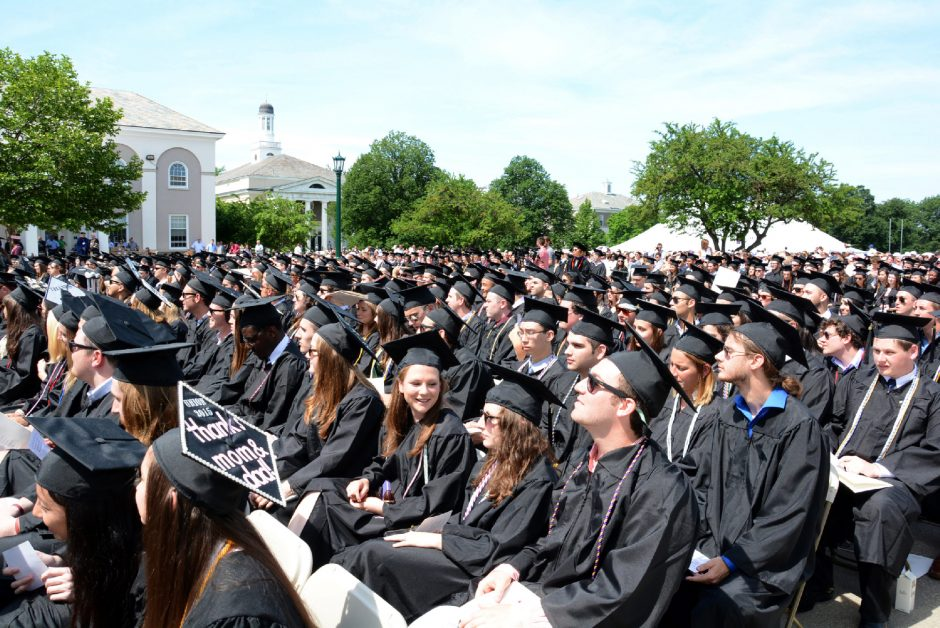 Union College's 2015 commencement ceremony.