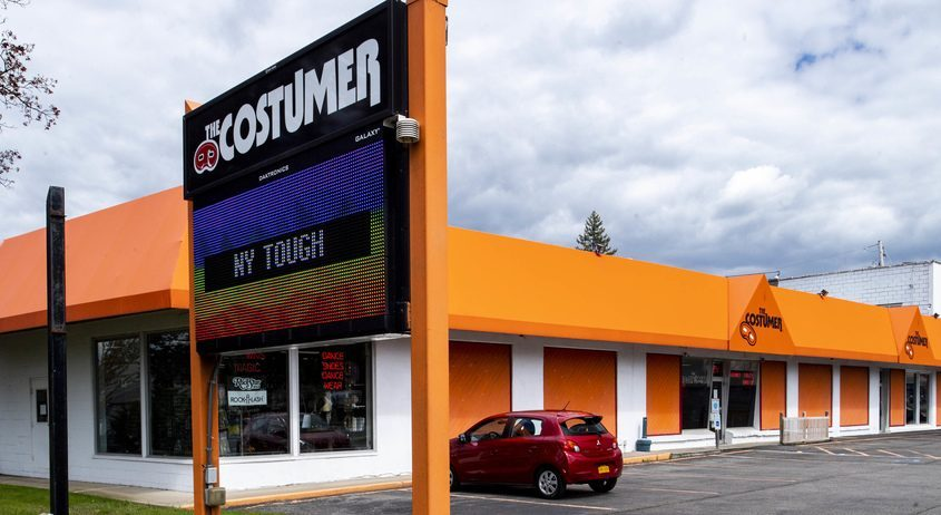 The Costumer at 1995 Central Ave. in Colonie is shown Wednesday.