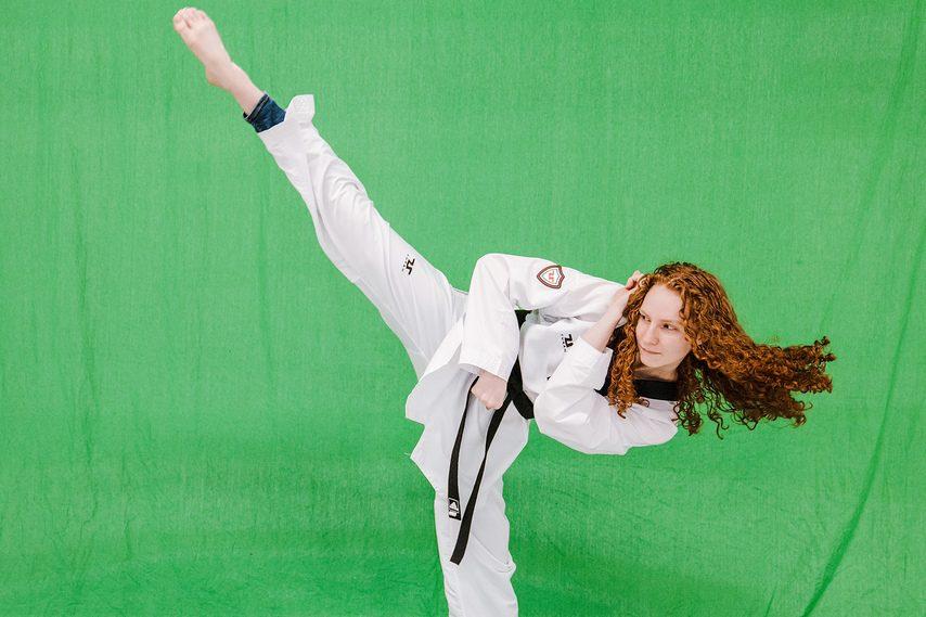 Makayla Greenwood has qualified as Team USA's alternate in the women's 57-kilogram division in taekwondo for the upcoming Tokyo Olympics. (Photo courtesy USA Taekwondo)