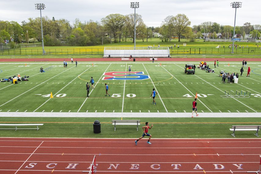Schenectady High School's Larry Mulvaney Field and the surrounding track will both be resurfaced in a project set to begin in late June.