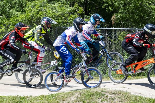 BMX racers compete at Tri-City BMX in Rotterdam on Saturday, May 15, 2021.