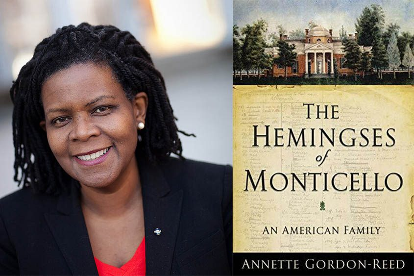 """Annette Gordon-Reed's 2008 book """"The Hemingses of Monticello: An American Family"""" earned her the Pulitzer Prize for History."""