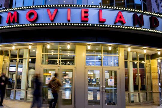 Patrons arrive at Bowtie Cinemasin Schenectady Dec. 25