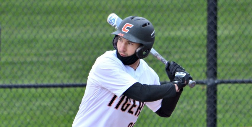 Nick Thomas leads SUNY Cobleskill in several offensive categories. (Photo courtesy SUNY Cobleskill)