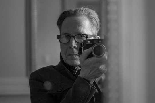 """A self-portrait of Richard Lovrich, the author of """"Have a Very Bad Day."""""""